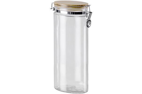 Баночка с замком и Бамбуковой крышкой 1,8 литра 1 штука Nadoba Dusana Чехия