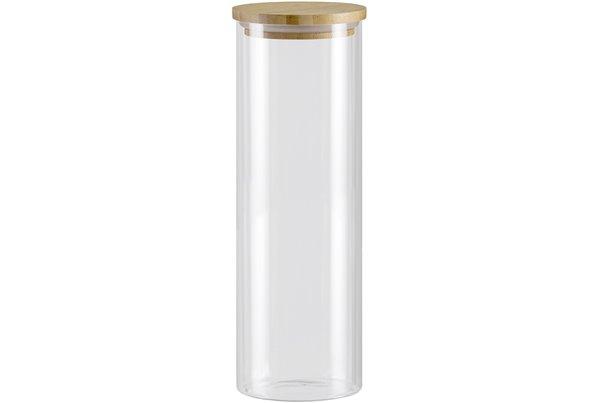 Баночка с Бамбуковой крышкой 1,65 литра 1 штука Nadoba Vilema Чехия