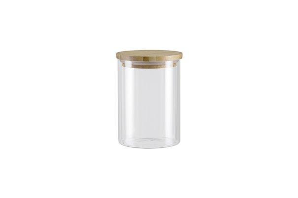 Баночка с Бамбуковой крышкой 0,7 литра 1 штука Nadoba Vilema Чехия