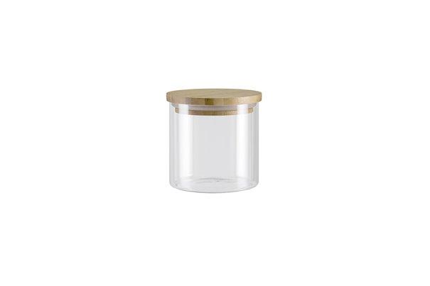 Баночка с Бамбуковой крышкой 0,45 литра 1 штука Nadoba Vilema Чехия