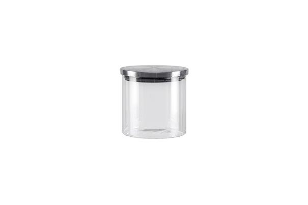 Баночка со Стальной крышкой 0,45 литра 1 штука Nadoba Silvana Чехия