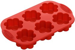 Форма для 6 Кексов 29 см Прямоугольная 1 штука Nadoba Mila Чехия