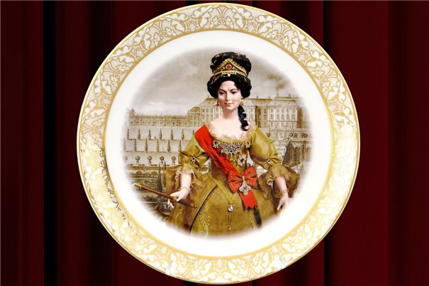 Тарелка Настенная 21 см Великая Княжна 1 штука Чехия
