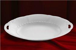 Блюдо для Хлеба 33 см 1 штука Соната Белая Чехия