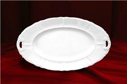 Блюдо Овальное 17 см 1 штука Соната Белая Чехия