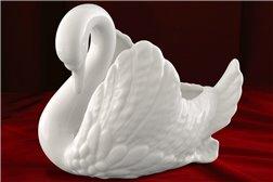Конфетница Лебедь 1 штука Соната Белая Чехия