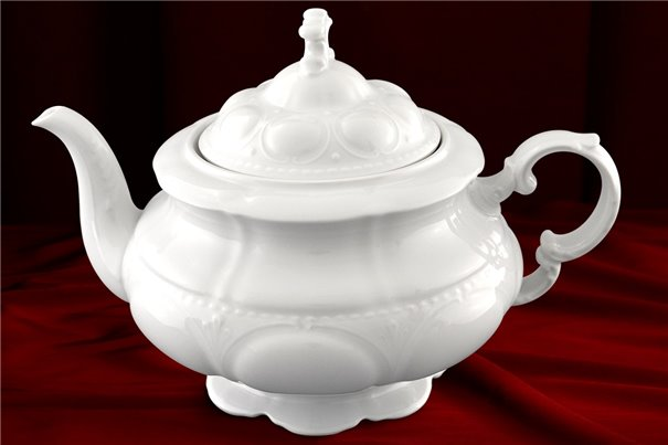 Чайник 1,5 литра 2 предмета Соната Белая Чехия