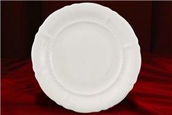 Блюдо Круглое 32 см 1 штука Соната Белая Чехия