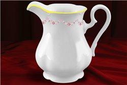 Кувшин 1 литр 1 штука Соната Мелкие Цветы Золото Чехия