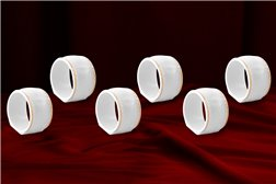 Кольцо для Салфеток 5 см 1 штука Соната Отводка Золото Чехия