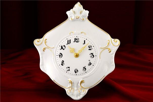 Часы Настенные 27 см 1 штука Соната Отводка Золото Чехия