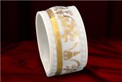 Кольцо 5 см для Салфеток 1 штука Соната Золотой Орнамент Чехия