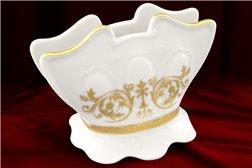 Салфетница 9 см 1 штука Соната Золотой Орнамент Чехия