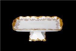 Блюдо Прямоугольное 26 см на Ножке 1 штука Катарина Кастэл (202) Германия