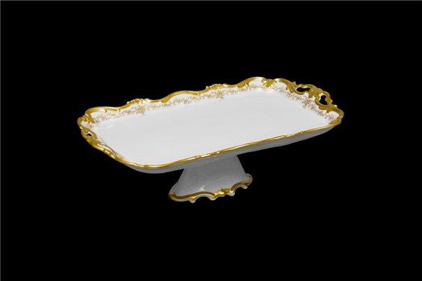 Блюдо Прямоугольное 45 см на Ножке 1 штука Катарина Кастэл (202) Германия