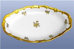 Блюдо Овальное 23 см (Селедочница) 1 штука Катарина Золотая Роза (1007) Германия