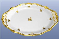 Блюдо Овальное 24 см 1 штука Катарина Золотая Роза (1007) Германия