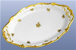 Блюдо Овальное 28 см 1 штука Катарина Золотая Роза (1007) Германия