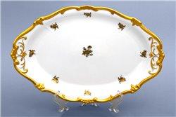 Блюдо Овальное 32 см 1 штука Катарина Золотая Роза (1007) Германия