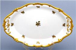 Блюдо Овальное 36 см 1 штука Катарина Золотая Роза (1007) Германия