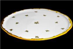 Тарелка для Торта 33 см 1 штука Катарина Золотая Роза (1007) Германия