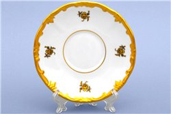 Набор Блюдец Чайных 15 см 6 штук Катарина Золотая Роза (1007) Германия