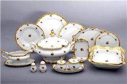 Столовый Сервиз на 12 персон 52 предмета Катарина Золотая Роза (1007) Германия