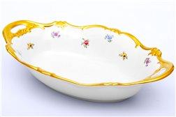 Блюдо для Хлеба 31 см 1 штука Катарина Мейсенский цветок (1016) Германия