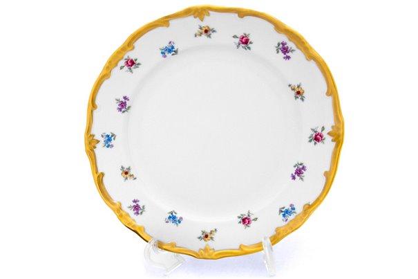 Блюдо Круглое 30 см 1 штука Катарина Мейсенский цветок (1016) Германия