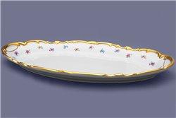 Блюдо Овальное 50 см 1 штука Катарина Мейсенский цветок (1016) Германия