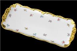 Блюдо Прямоугольное 36 см 1 штука Катарина Мейсенский цветок (1016) Германия