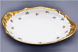 Тарелка для Торта 27 см 1 штука Катарина Мейсенский цветок (1016) Германия