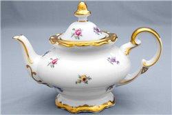 Чайник 1,2 литра 2 предмета Катарина Мейсенский цветок (1016) Германия