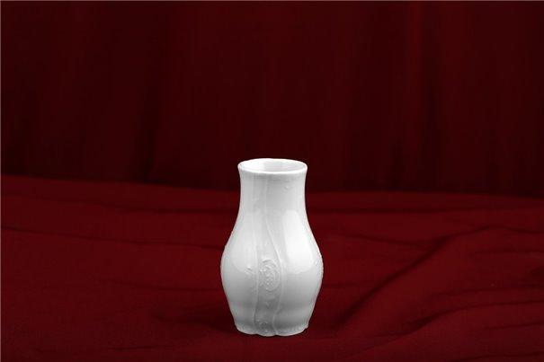 Ваза для Цветов 11 см 1 штука Бернадотт Белая Посуда Чехия
