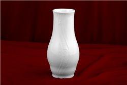 Ваза для Цветов 19 см 1 штука Бернадотт Белая Посуда Чехия