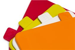 Набор Пластиковых Разделочных досок 34 см 4 штуки Oursson Разноцветные Корея