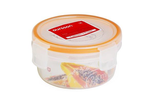 Контейнер 0,2 литра 2 предмета Оранжевый Oursson Ecо Keep Корея