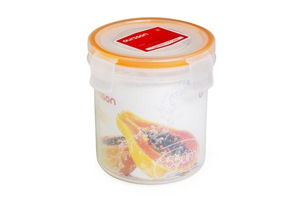 Контейнер 0,55 литра 2 предмета Оранжевый Oursson Ecо Keep Корея