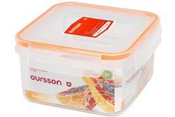 Контейнер 1,1 литра 2 предмета Оранжевый Oursson Ecо Keep Корея