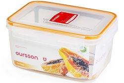 Контейнер 2,4 литра 2 предмета Оранжевый Oursson Ecо Keep Корея