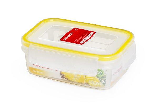 Контейнер 0,5 литра 2 предмета Желтый Oursson Ecо Keep Корея
