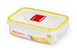 Контейнер 0,67 литра 2 предмета Желтый Oursson Ecо Keep Корея