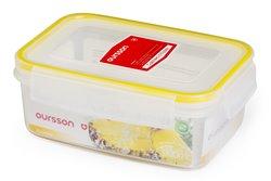 Контейнер 0,9 литра 2 предмета Желтый Oursson Ecо Keep Корея