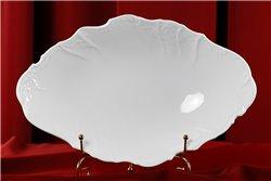 Блюдо для Хлеба 34 см 1 штука Бернадотт Белая Посуда Чехия