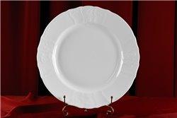 Блюдо Круглое 32 см 1 штука Бернадотт Белая Посуда Чехия