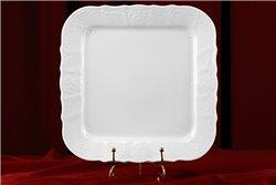 Поднос 26 см 1 штука Бернадотт Белая Посуда Чехия