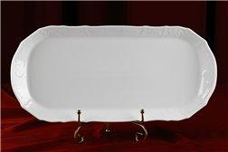 Поднос 37 см 1 штука Бернадотт Белая Посуда Чехия