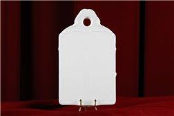 Доска для Нарезки 20 см 1 штука Бернадотт Белая Посуда Чехия