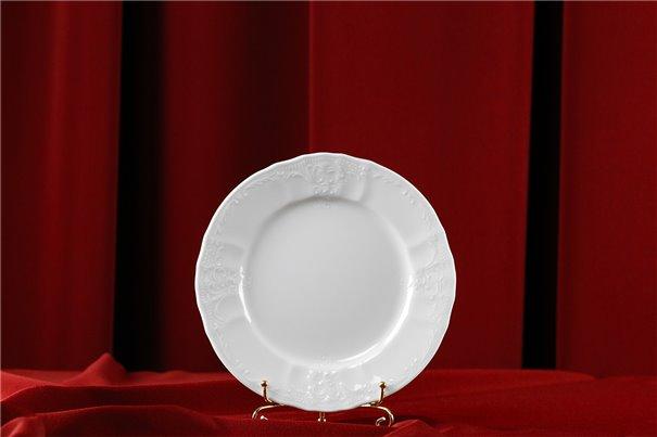 Набор Пирожковых Тарелок 17 см 6 штук Бернадотт Белая Посуда Чехия