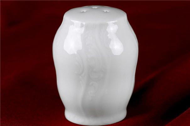 Солонка 7 см 1 штука Бернадотт Белая Посуда Чехия